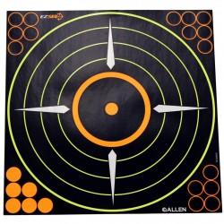 EZ See Adhesive Round Bullseye Targt 5/pk ALLEN-CASES