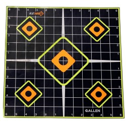 EZ See Adhesive Sight In Grid Target 5/pk ALLEN-CASES