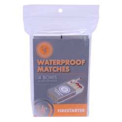 Waterproof Matches 4-Pack ULTIMATE-SURVIVAL-TECHNOLOGIES