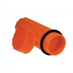 Waterproof Match Case, Orange ULTIMATE-SURVIVAL-TECHNOLOGIES