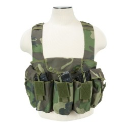 Vism By Ncstar Ak Chest Rig/Woodland Camo NCSTAR