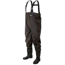 Rana II PVC Chest Wader Brown 11 FROGG-TOGGS