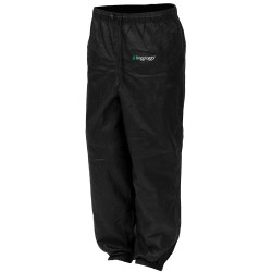 Pro Action Pant Black Lg FROGG-TOGGS