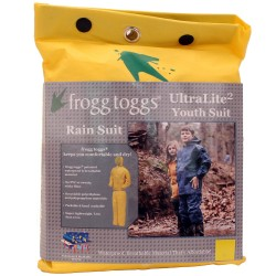 Youth Ultra Lite Suit Yellow Lg FROGG-TOGGS