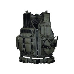 UTG 547  Tactical Vest, Black LEAPERS-INC