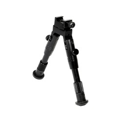"Shooter's Rubber Feet Bipod,Ht 6.2""-6.7"" LEAPERS-INC"