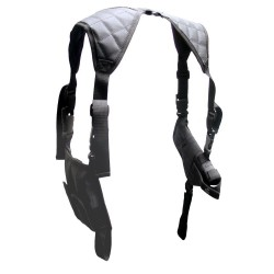 UTG Horizontal Shoulder Holster, Black LEAPERS-INC