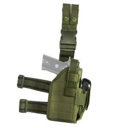Vism Drop Leg Universal Holster - Green NCSTAR