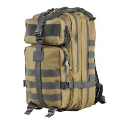 Vism Small Backpack/Tan,Urban Gray Trim NCSTAR