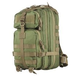 Vism Small Backpack/Green With Tan Trim NCSTAR