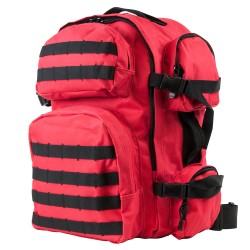 Vism Tactical Backpack/Red W/Black Trim NCSTAR
