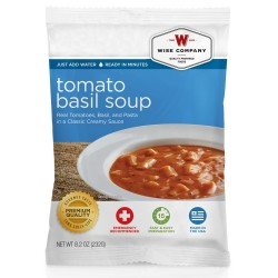 Tomato Basil Soup with Pasta  (4 srv) WISE-FOODS