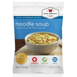 Chicken Noodle Soup (4 srv) WISE-FOODS