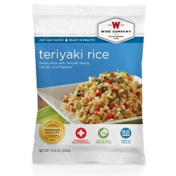 Teriyaki & Rice  (4 srv) WISE-FOODS