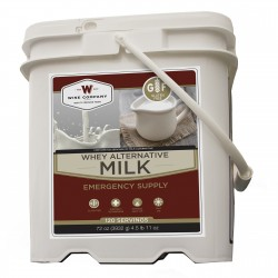 120 Serving Milk Bucket WISE-FOODS