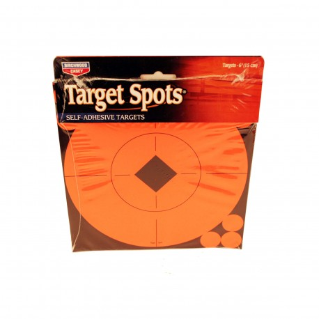 "6"" Target Spots Per/10 BIRCHWOOD-CASEY"