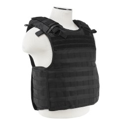Quick Release Plate Carrier Vest - Black NCSTAR