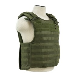 Quick Release Plate Carrier Vest - Green NCSTAR