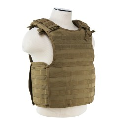 Quick Release Plate Carrier Vest - Tan NCSTAR