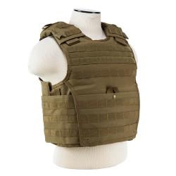 Expert Plate Carrier Vest - Tan NCSTAR