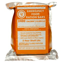 Emergency Food Ration Bars, PDQ 4-ct ULTIMATE-SURVIVAL-TECHNOLOGIES