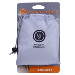 Pocket Poncho, Gray ULTIMATE-SURVIVAL-TECHNOLOGIES