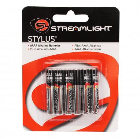 6-Pack AAAA Batteries STREAMLIGHT