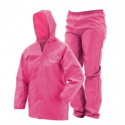 Youth Ultra Lite Rainsuit Pink MD FROGG-TOGGS