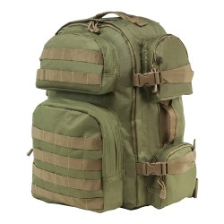 Vism Tactical Backpack/Green w/ Tan Trim NCSTAR