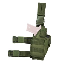 Vism Drop Leg Tactical Holster - Green NCSTAR
