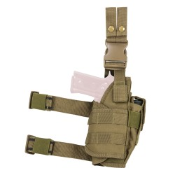 Vism Drop Leg Tactical Holster - Tan NCSTAR
