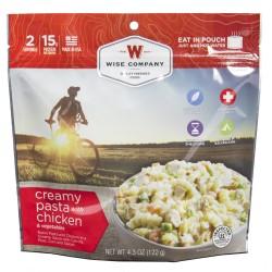 Outdoor Creamy Pasta&Vegetables w/Chicken WISE-FOODS