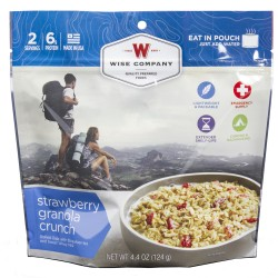 Outdoor Strawberry Granola Crunch WISE-FOODS