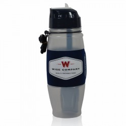 Wise Water Bottle Powered by Seychelle WISE-FOODS