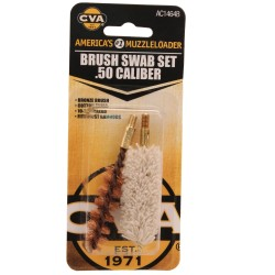 Brush/Swab Set .50 Caliber CVA