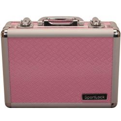 AlumaLock Dbl Handgun-Pink SPORTLOCK