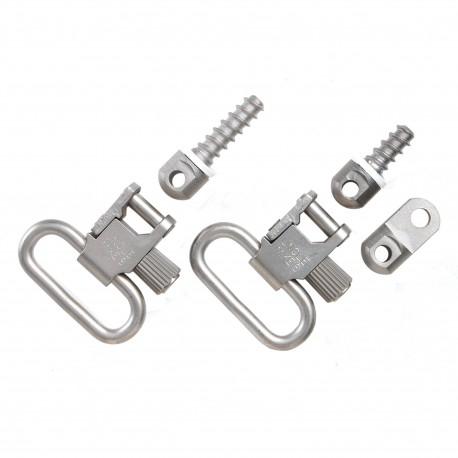 QD115 Nickel-Plated Ruger Swivels UNCLE-MIKES