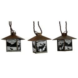 Moose Rustic Lantern Lights 10 Pc RIVERS-EDGE-PRODUCTS
