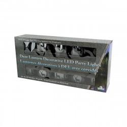 Deer Rustic Lantern Lights 10 Pc RIVERS-EDGE-PRODUCTS