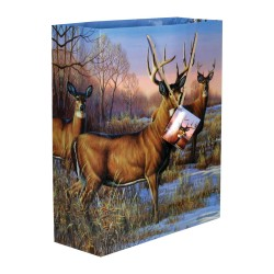 "X-lg Deer Gift Bags 16""x19""x6"" RIVERS-EDGE-PRODUCTS"