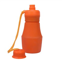 FlexWare Water Bottle, Orange ULTIMATE-SURVIVAL-TECHNOLOGIES