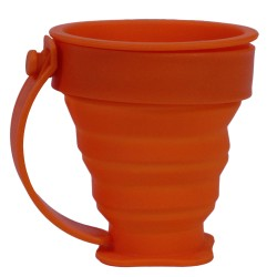 FlexWare Mug, Orange ULTIMATE-SURVIVAL-TECHNOLOGIES