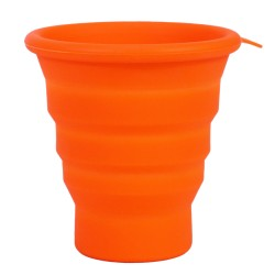 FlexWare Cup, Orange ULTIMATE-SURVIVAL-TECHNOLOGIES