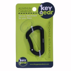 Aluminum Carabiner 1.0, Black ULTIMATE-SURVIVAL-TECHNOLOGIES