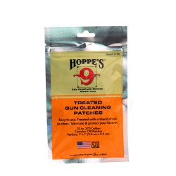 Hoppe'S .22 Treated Patches,Bag HOPPES