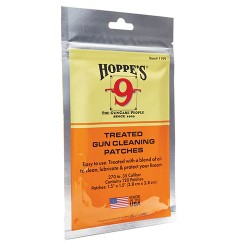 Hoppe'S .30 Treated Patches,Bag HOPPES