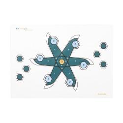 First-To-Ten Paper Target W/ Pins, ALLEN-CASES