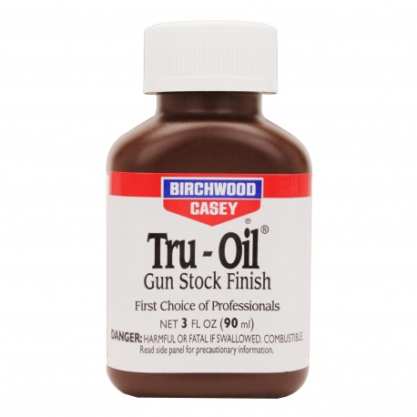 Tru-Oil Gun Stock Finish  3oz. BIRCHWOOD-CASEY