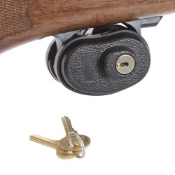 Trigger Gun Lock, Keyed,Black ALLEN-CASES