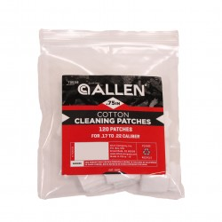"Cotton Patches, Retail Pack, 120Pc: .75"" ALLEN-CASES"